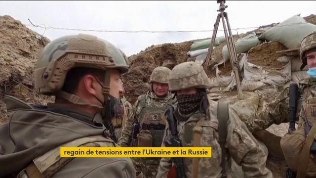 Regain de tensions entre l'Ukraine et la Russie