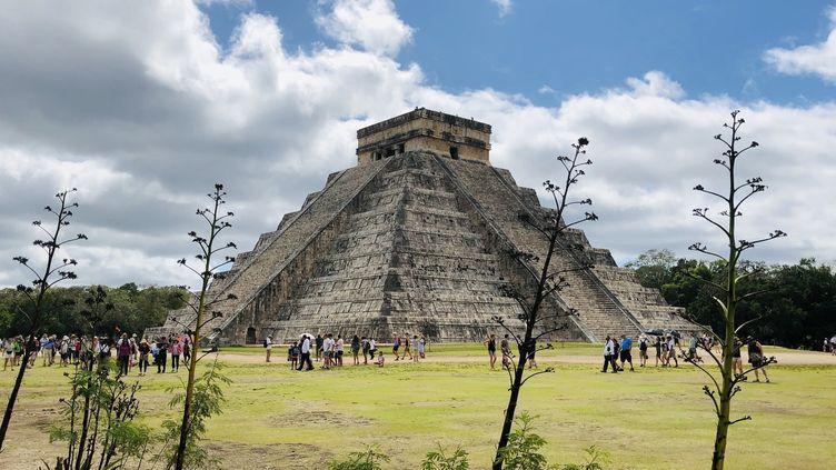 Le site maya de Chichen Itza dan sle Yucatan  (DANIEL SLIM / AFP)