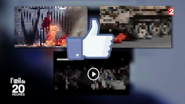 L'Œil du 20 heures - Nudité, contenus violents : les ratés de la modération de Facebook
