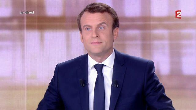"""Présidentielle : Emmanuel Macron réplique à Marine Le Pen  : """"Vous incarnez l'esprit de défaite"""""""