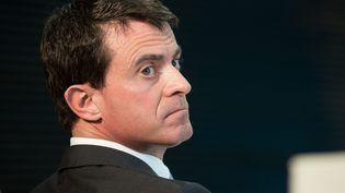Manuel Valls participe à un comité interministériel, le 26 octobre 2015, aux Mureaux (Yvelines). (  MAXPPP)
