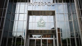 Le siège d'Interpol, à Lyon. (JEAN-PHILIPPE KSIAZEK / AFP)