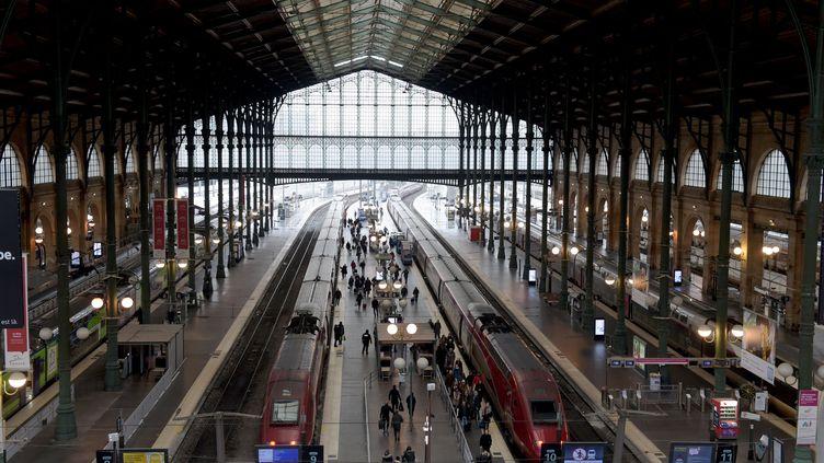 La Gare du Nord, à Paris (11 janvier 2019) (ERIC PIERMONT / AFP)