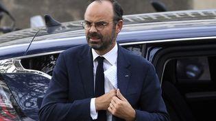 Le Premier ministre, Edouard Philippe, visite le salon BPI France le 11 octobre 2018 à Paris. (ALAIN JOCARD / AFP)