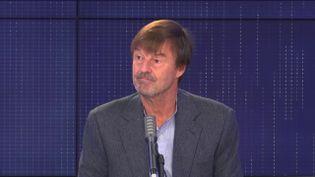 Nicolas Hulot, président de la Fondation Nicolas Hulot, invité de franceinfo vendredi 16 octobre 2020. (FRANCEINFO / RADIOFRANCE)