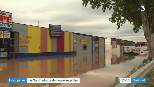 Gard : après des pluies diluviennes, un nouvel orage attendu