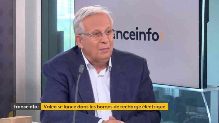 Jacques Aschenbroich, PDG de Valeo, invité de franceinfo le 9 septembre 2021. (FRANCEINFO)