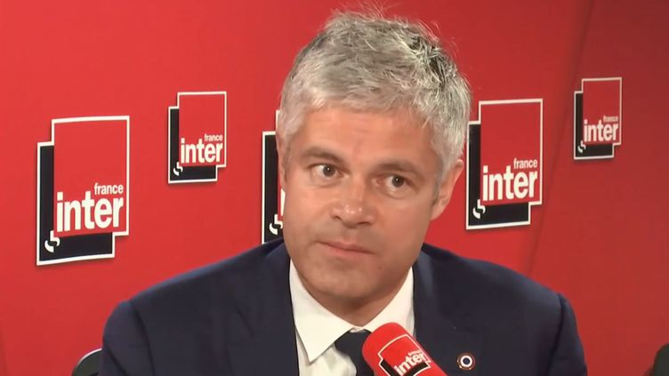 Laurent Wauquiez à Paris le 7 novembre 2018. (Capture d'écran/ France Inter)
