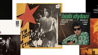 Des pochettes de maxis vinyl et de 45 tours du Disquaire Day 2020. (TOUS DROITS RÉSERVÉS)