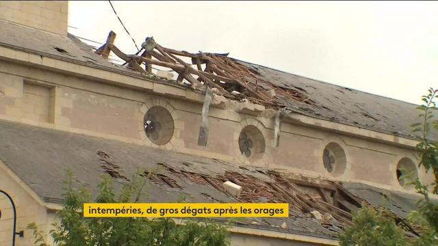 Intempéries : une tornade et des orages font de gros dégâts sur une partie de la France