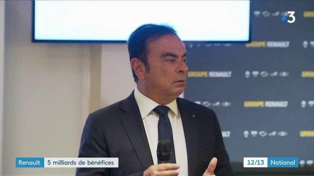 Renault : année record et 5 milliards d'euros de bénéfice