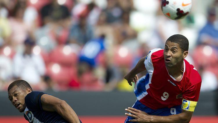 L'attaquant du Costa Rica Costa Rica Alvaro Saborio est forfait pour le Mondial au Brésil (OSVALDO AGUILAR / MEXSPORT)