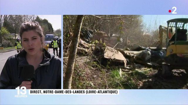 """Notre-Dame-des-Landes : """"Déjà 29 squats détruits"""""""