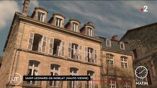 Un gîte à Saint-Léonard-de-Noblat, en Haute-Vienne. (France 2)
