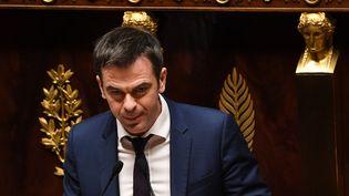 Olivier Véran, le 20 décembre 2018, à l'Assemblée nationale. (ALAIN JOCARD / AFP)
