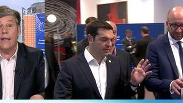 """Alexis Tsipras """"veut une restructuration"""" de la dette grecque"""