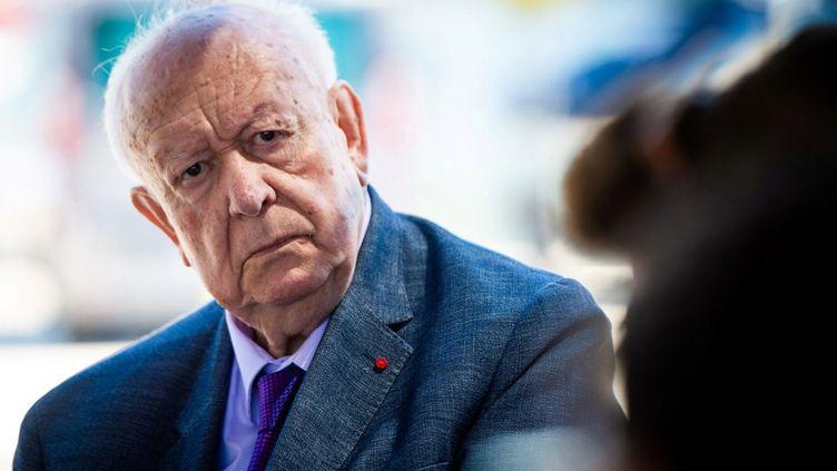 Jean-Claude Gaudin, le 24 juin 2020, à Marseille. (CLEMENT MAHOUDEAU / AFP)