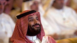 Le prince héritier d'Arabie saoudite Mohammed ben Salmane à Riyad, le 23 octobre 2018. (AMR NABIL/AP/SIPA / AP)