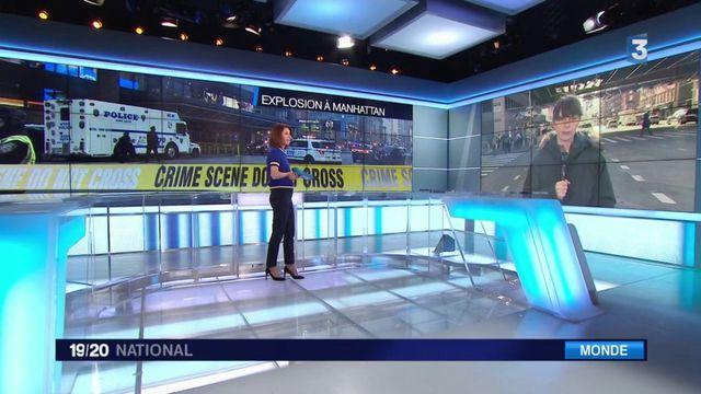 New-York : une tentative ratée d'attaque à la bombe fait trois blessés légers