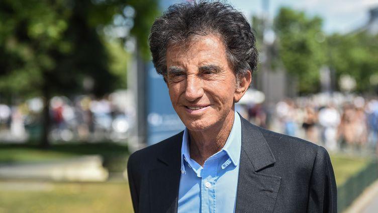L'ancien ministre de la Culture, Jack Lang, le 2 juillet 2019 à Paris. (LUCAS BARIOULET / AFP)