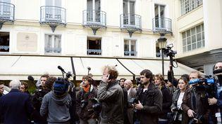 Devant chez Drouant, où est décerné le prix Renaudot (archives, 4 novembre 2013)  (Eric Feferberg / AFP)