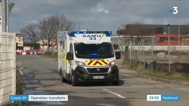 Covid-19 : des opérations de transfert de malades pour soulager les services de réanimation franciliens