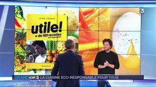 Le chef cuisinier Jean Imbert (France 3)