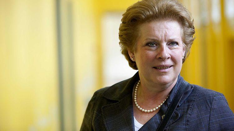 Catherine Trautmann sera tête de liste socialiste, dans la circonscription de l'Est,pour les élections européennes de 2014. (SAUTIER PHILIPPE / SIPA)
