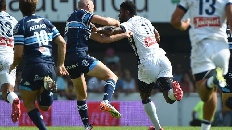Clermont s'impose dans la douleur à Montpellier (SYLVAIN THOMAS / AFP)