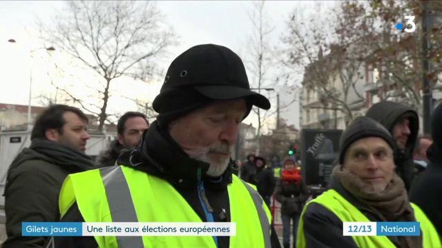 """""""Gilets jaunes"""" : une liste aux élections européennes"""