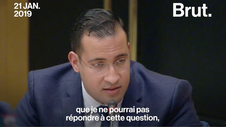 Plusieurs mois après avoir été interrogé une première fois pour des violences commises sur des manifestants, Alexandre Benalla a dû être auditionné à nouveau devant les sénateurs sur l'affaire des passeports diplomatiques. (BRUT)