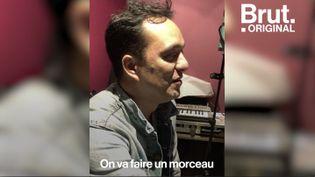 VIDEO. Quand Malik Djoudi ouvre les portes de son studio (BRUT)