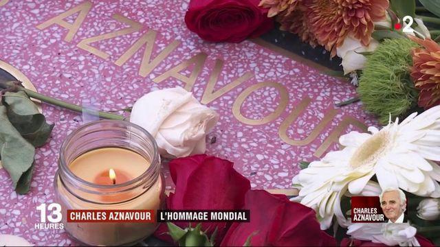Mort de Charles Aznavour : un hommage mondial au chanteur