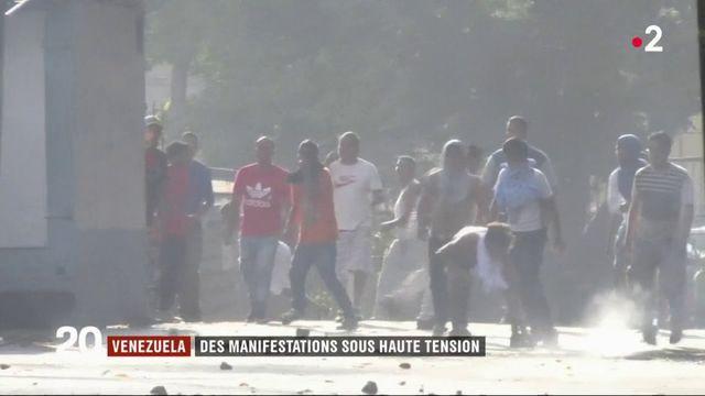 Venezuela : manifestations sous haute tension