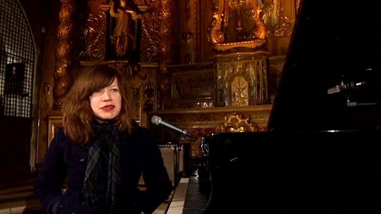 Shannon Wright pour un concert insolite et intimiste à la chapelle de Sainte Marie d'en Haut à Grenoble  (France 3 / Culturebox)
