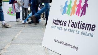 La 15e édition de la Marche de l'espérance, à Paris, le 31 mars, à l'occasion de la journée mondiale de sensibilisation l'autisme. (MAXPPP)