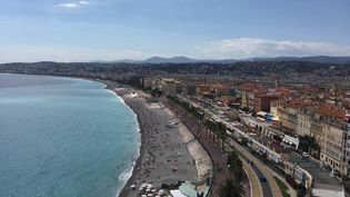 La baie des Anges à Nice (Alpes-Maritimes). (ROMAIN BERCHET / FRANCE-BLEU AZUR)