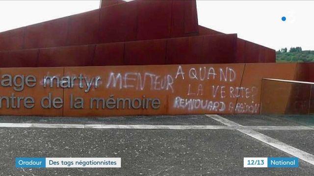 Des dégradations négationnistes à Oradour-sur-Glane