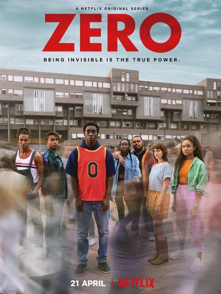 """L'affiche de la série """"Zero"""". (NETFLIX)"""