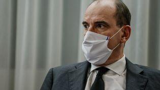 Le Premier ministre, Jean Castex, en décembre 2020 à Evry (Essonne). (THOMAS SAMSON / AFP)