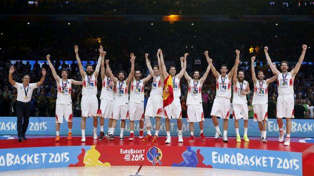 (L'Espagne remporte l'Euro de basket 2015 © MaxPPP)