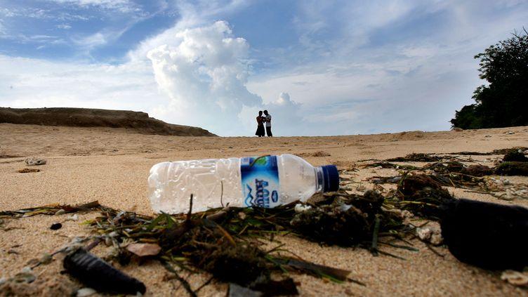 La Commission européenne lance aujourd'hui une série de propositions pour réduire l'utilisation de plastique au sein de l'Union. (JEWEL SAMAD / AFP)