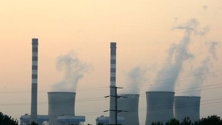Une centrale à charbon de Huai'an (Chine), le 30 juillet 2018. (ZHOU CHANGGUO / IMAGINECHINA / AFP)