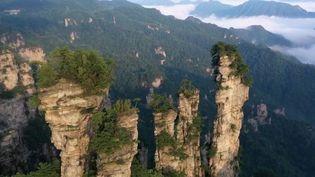 Chine : les montagnes de Zhangjiajie, un véritable trésor de la nature (France 2)