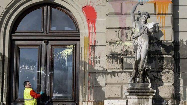 Manifestation pour la culture à Genève  (Fabrice Coffrini / AFP )