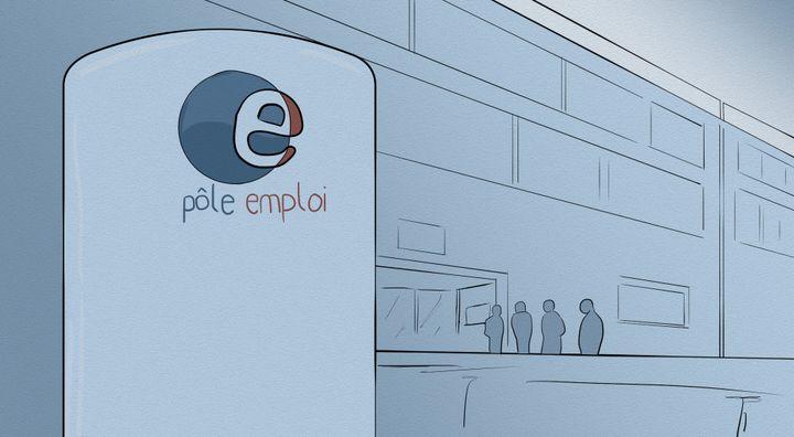 Plusieurs programmes d'expérimentation ont été lancés à Pôle Emploi. (NICOLAS DEWIT / RADIO FRANCE)