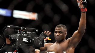 A peine 8 ans après ses débuts en MMA, Francis Ngannou est le nouveau champion des poids lourds UFC à 34 ans. (DOUGLAS P. DEFELICE / GETTY IMAGES NORTH AMERICA)