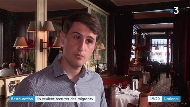 Emploi : les restaurateurs veulent embaucher des migrants