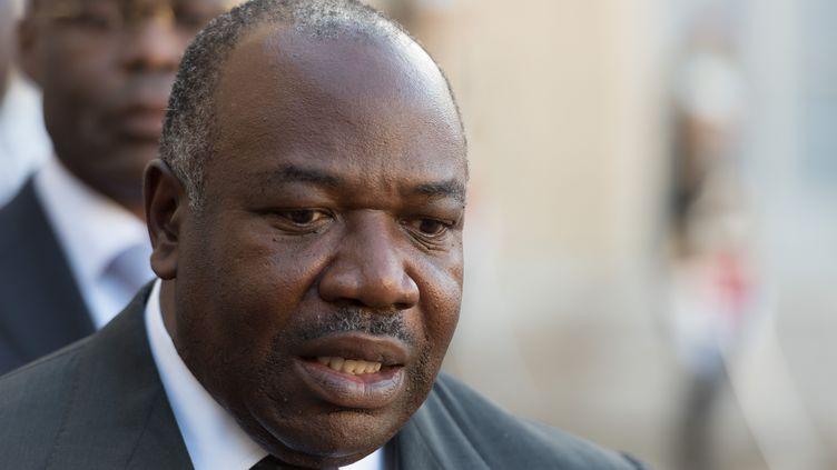 Ali Bongo Ondimba en 2015 à Paris (WITT / SIPA)