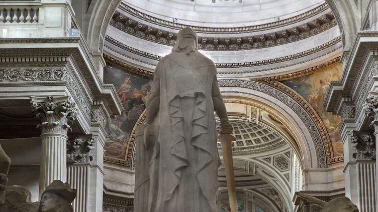 La statue à la gloire de la Convention nationale installée au Panthéon en 1920. (MANUEL COHEN / AFP)